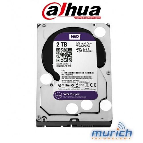 WD PURPLE WD20PURX 2 TB HDD